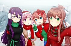 New memes single girl Ideas Dc Anime, Anime Art, Doki Doki Anime, Cute Selfie Ideas, Otaku, Christmas Feeling, Merry Christmas, Memes Funny Faces, Literature Club