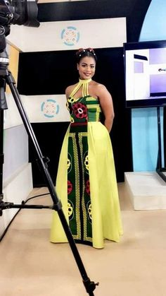 Next Previous Artistic Maxi chitenge dress. Kanyget fashions + Next Previous Ghanaian Fashion, African Inspired Fashion, Latest African Fashion Dresses, African Print Dresses, African Dresses For Women, African Print Fashion, Africa Fashion, African Wear, African Attire
