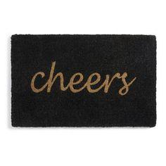 Cheers Door Mat - Grandin Road