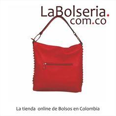 Cartera David Jones CM0428 Rojo Grande, A la moda con taches en los costados. Mira el precio aquí: http://www.labolseria.com.co/bolsos/cartera-david-jones-cm0428-rojo/