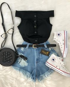 Here's Stylish teen fashion outfits Teen Fashion Outfits, Look Fashion, Outfits For Teens, Korean Fashion, Summer Outfits, Girl Outfits, Womens Fashion, Fashion Clothes, Cute Casual Outfits