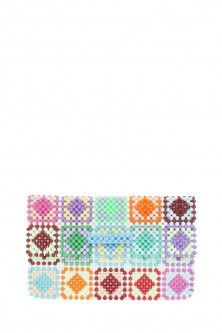 charlotte clutch by DEL DUCA. Available in-store and on Boutique1.com