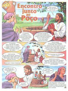 Jesus nos ama Bible Illustrations, Bible Stories, Comic Books, Faith, Jesus Cristo, Wallpaper, Professor, Opening Prayer, Bible Stories For Children