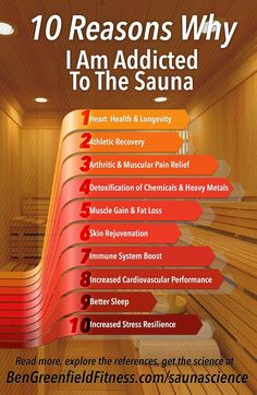 Every morning I wipe the crust out of the corner of my eyes, suck down a giant cup of coffee, & then wander to my basement gym, where I commence to flip the power on my sauna. I then step inside, and (Step Workout Benefits) Saunas, Basement Gym, Coconut Health Benefits, Boost Immune System, Natural Antibiotics, Stop Eating, Yoga Flow, How To Do Yoga, Health Problems