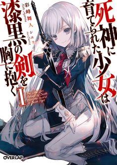 cierra (artist) shinigami ni sodaterareta shoujo wa shikkoku no ken wo mune ni idaku sword uniform Manhwa Manga, Anime Manga, Hot Anime Couples, Fanart, Shinigami, Manga Covers, Anime Artwork, Light Novel, Hatsune Miku