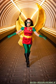 DeviantArt: More Like Project Super Woman: Mindy Marvel Weakness by Project-Superwoman Robin Costume, Cassandra Cain, Stephanie Brown, Dc Cosplay, Tim Drake, Batgirl, Marvel, Deviantart, Woman