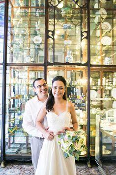 Mini wedding de Alessandra e Rodrigo {Fotografia: Flávia Soares Fotografia | Beleza: a própria noiva, Alessandra Garcia}