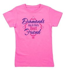 Diamonds Girls Tee on CafePress.com