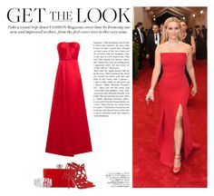 Get the Look: Met Gala by katsin90 on Polyvore featuring polyvore fashion style Jason Wu Paul Andrew Judith Leiber Avenue GALA clothing GetTheLook MetGala