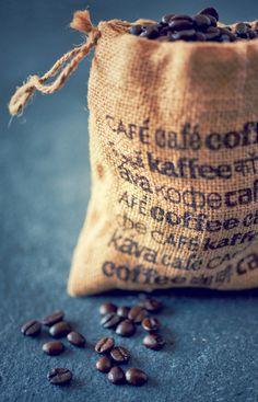 Zakje koffie bonen
