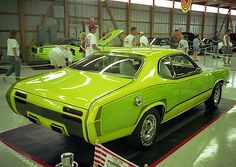 1971 Plymouth Duster. Original factory show car.
