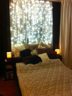Fairy tale bedroom lights.