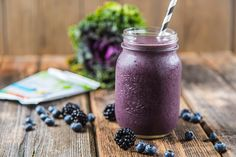 Brain Power Smoothie for Clarity and Focus