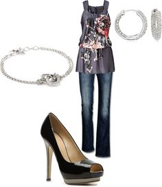 """pretty for cool summer nights"" by amanda-kinsey on Polyvore"