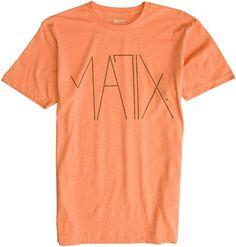 MATIX DADA SS TEE > Mens > Clothing > Tees Short Sleeve   Swell.com