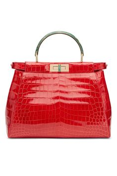 Fendi Peekaboo bag by Jerry Hall