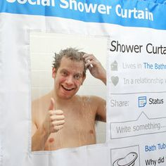 Shower Curtain! So funny!