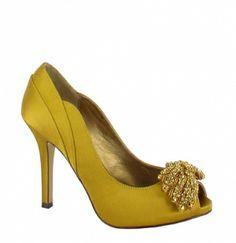 Gorgeous new shoes by Menbur at JJ Kelly Bridal!