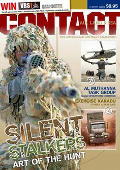 CONTACT Air Land & Sea issue #8, December 2005. - Dedicated to Private Jake Kovco, 25 Sept 1980-21 Apr 2006.