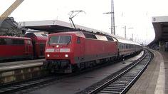 120 122 e 120 151 in partenza da Nürnberg Hbf - 120 122 and 120 151 leaving Nürnberg Hbf