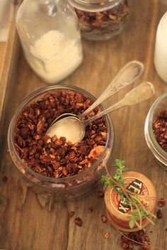 Granolat chocolat noix de coco6 GRANOLA CHOCOLAT ET NOIX DE COCO