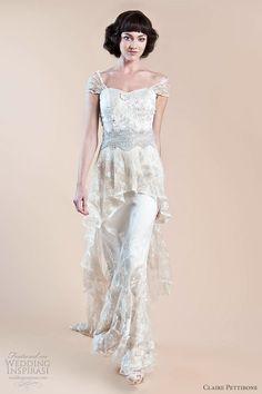 blue celtic wedding dresses - Google Search