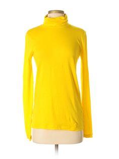 20395e502f8e3 J. Crew Long Sleeve Turtleneck  Size 4.00 Yellow Women s Tops -  21.99