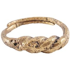 VIKING TWISTED RING C.850-1050 AD