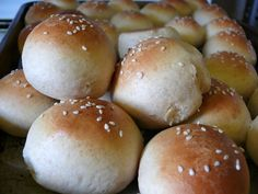 Quick Wheat Hamburger or Slider Buns