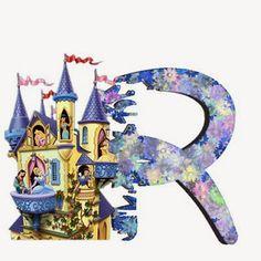 Alfabeto de Princesas Disney. | Oh my Alfabetos! Disney Alphabet, Cute Alphabet, Alphabet Letters, Alfabeto Disney, Decoupage, Prince Party, Disney Princess Party, Cool Lettering, Disney Family
