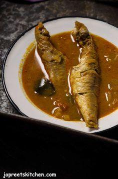 Sankara Meen Kuzhambu / Red Snapper Fish Curry