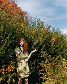VOGUE Nippon March 2006 'Dressed in Innocence' Lily Cole by Carter Smith