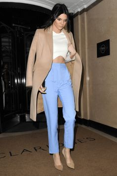 355b8d9dc5 in Topshop at London Fashion Week. - HarpersBAZAAR.com Style Feminin