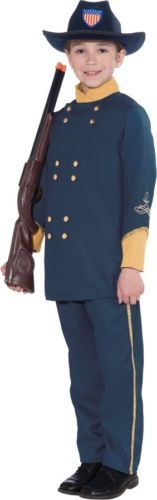 Union Officer Child Costume Halloween Civil War New for 2013 | eBay