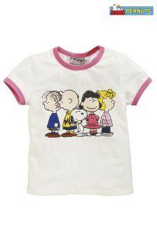 White Snoopy T-Shirt (3mths-6yrs)
