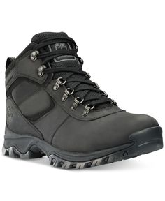 Buy the Timberland Earthkeepers Mt. Maddsen Mid Waterproof Hiking Boots for Men - Black and more quality Fishing, Hunting and Outdoor gear at Bass Pro Shops. Timberland Hiking Boots, Mens Hiking Boots, Timberland Mens, Hiking Shoes, Hiking Gear, Black Leather Boots, Brown Boots, Leather Men, Brown Leather