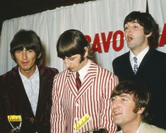 The Beatles the Fab Four Smiling at Press Conference 1966 Poster or Photo | eBay
