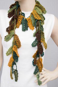 Mustard yellow rose crochet jewelry crochet por SenasShop en Etsy