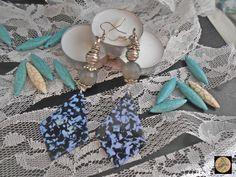 Geometric Blue Plexi glass earrings Dangle Earrings Boho Lightweight earrings Contemporary jewelry Handmade Bohemian Jewelry by Neda Handmade Jewelry, Handmade Items, Unique Jewelry, Handmade Gifts, Hippie Bohemian, Bohemian Jewelry, Glass Earrings, Boho Earrings, Plexi Glass