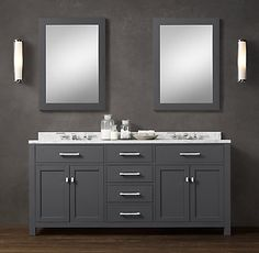 Hutton Vanity | Restoration Hardware