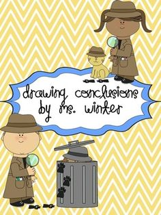 FREE Drawing Conclusions Activities - Mystery Bags, Descriptive Writing, and Independent Practice