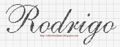 Edilse Bordados: Nomes que fiz