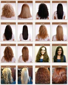 Before and after the brazillian blowout! Shantel for all your beauty… – Laurel Jones - Perm Hair Styles Permed Hairstyles, Modern Hairstyles, Pretty Hairstyles, Hairstyle Ideas, Brazillian Blowout, Different Types Of Curls, Really Long Hair, Keratin Hair, Air Dry Hair