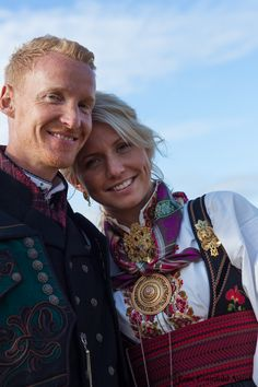 Norwegian Fashion, Norway, Scandinavian, Ethnic, Culture, Costumes, Couple Photos, Couples, Beautiful