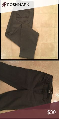 Grey Skinny Jeans Signature fit stretchy Jeans is a washed grey color. Super soft! Like new. Dress Barn Jeans Skinny