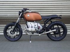 "BMW Scrambler ""SCHIZZO"" by WalzWerk-Racing als Naked Bike in Mannheim"