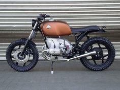 """BMW Scrambler """"SCHIZZO"""" by WalzWerk-Racing als Naked Bike in Mannheim"""