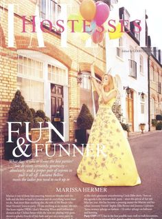 in Tatler Ladies Of London, Magazine, Bellini, Film, Best Part Of Me, Color Mixing, Pairs, Formal Dresses, Celebrities