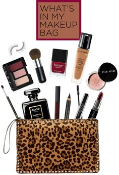 """""""Makeup Bag"""" by hallowpoint-smile ❤ liked on Polyvore"""