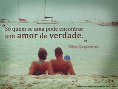 """""""Só quem se ama pode encontrar um amor de verdade."""" #Amor #AmorDeVerdade"""
